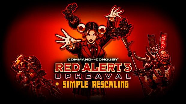 Red Alert 3 - Upheaval + Simple Rescaling 1.16