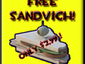 Free Sandvich! - Only 2,99$
