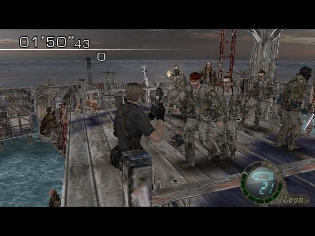 Re4 PC Merc Lvls - Enemy Swarm