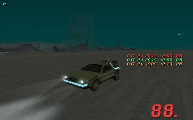 Back to the Future SA Mini Mod 0.1.3