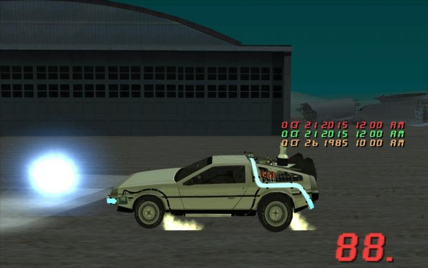 Back to the Future SA Mini Mod 0.1.3.2