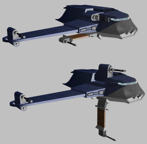 "Anakin's G9 Rigger Ship ""Twilight"""