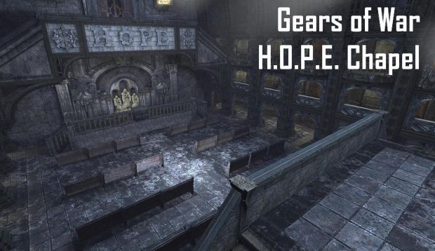 Gears of War - H.O.P.E. Chapel (BETA 2)