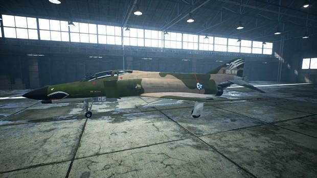 F4E Osean Air Defence Force, SEA camo.