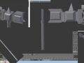 Dwarf Halberd Hammer Axe