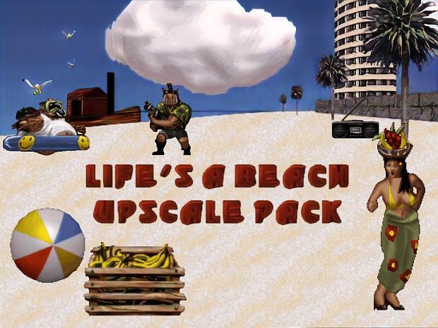 Life's a Beach - Upscale Pack
