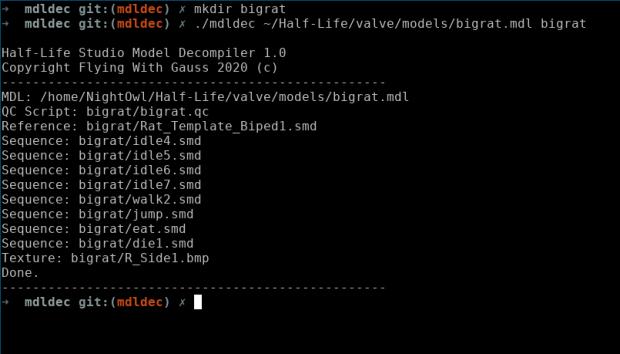 Half-Life Studio Model Decompiler v1.1(Win32, Linux)