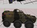 Three Birtish Cold war-era Armored Cars
