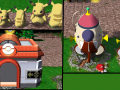 Pikachu, Pokemon Center, and Pikmin Rocket (Models)