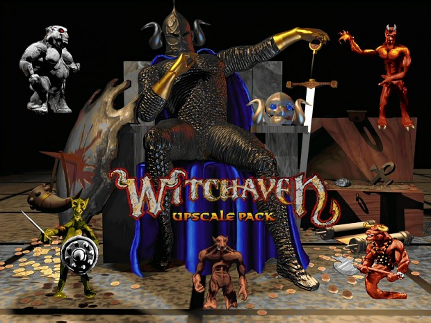Witchaven Upscale Pack 2.10B (outdated, see link in desc)