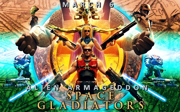Alien Armageddon 3.1 Space Gladiators