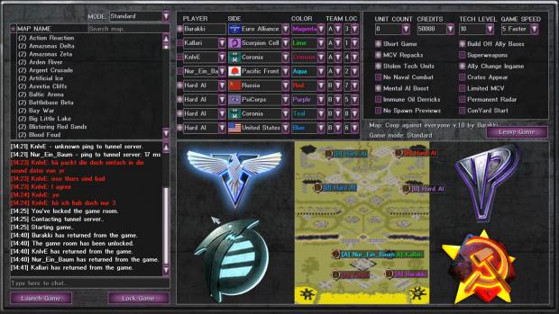 Coop against the BEST v.1.0 Red Alert 2 Mental Omega Map