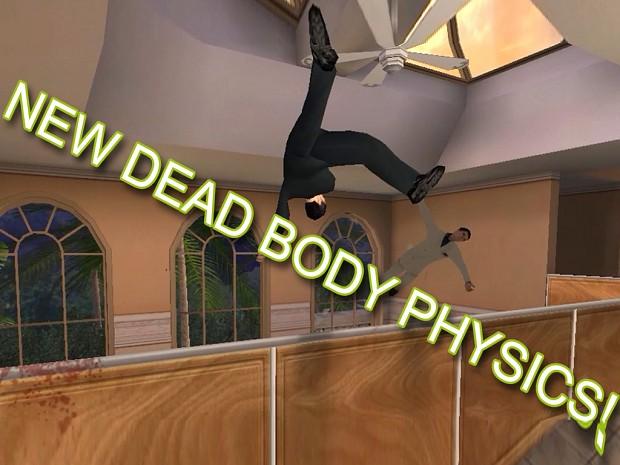 Dead Body Physics Mod