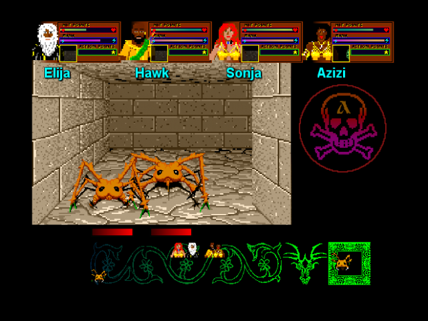 Dungeon Master mod for Super Dungeon Master Ace