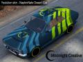 TrackMania 2 Skin - NapkinNate's Desert Car