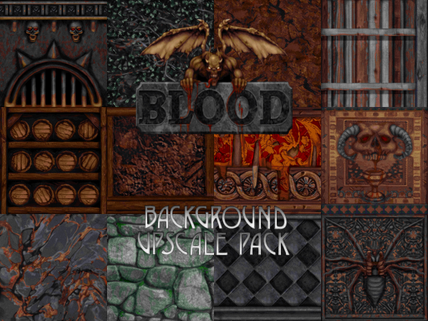 Blood Background Upscale Pack