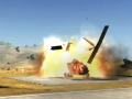 Air Vehicles Explosions Effect
