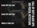 Black Ops 1911 Pistol Retexture