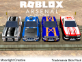 TrackMania 2 Skins Pack (Roblox Arsenal)