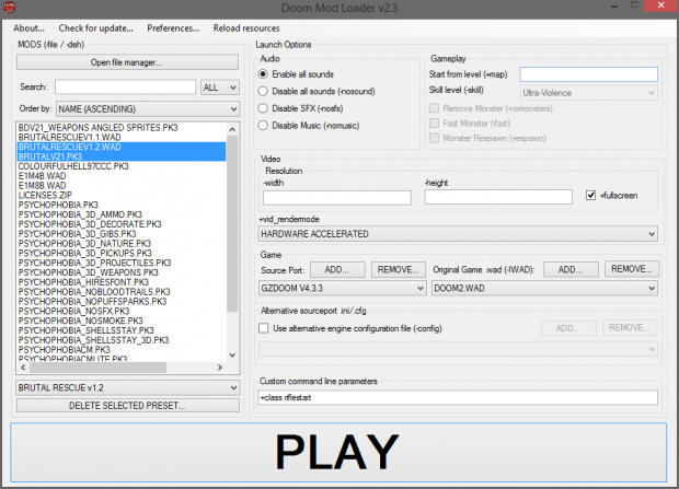 Doom Mod Loader v2.3