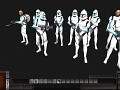 [Galaxy At War] Skin Pack 501st Legion TWC