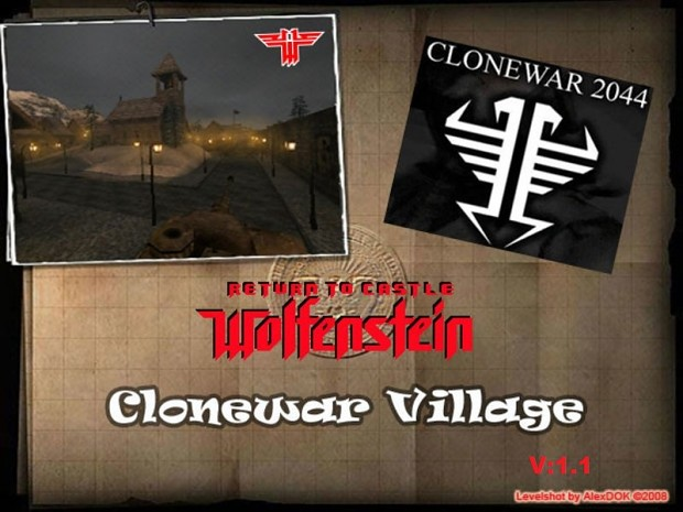 Clonewar Village v1 1