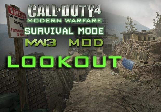 Survival MW3 Mod Lookout Map