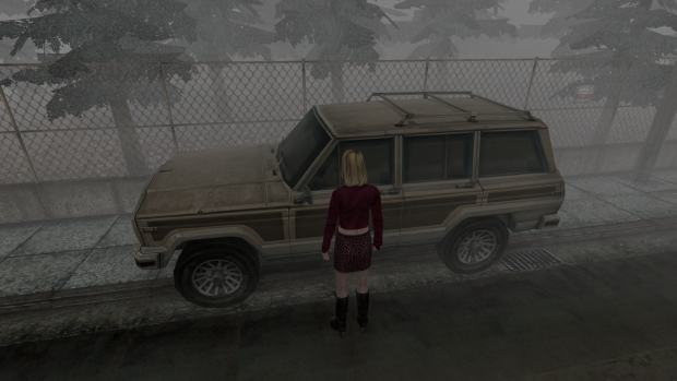 Silent Hill 2   Born From A Wish AI Upscale Mod