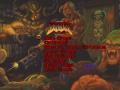 Doom main menu custom image