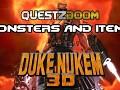 Duke Nukem 3D Monsters, Weapons & Items