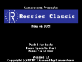 Rossies Classic - DOS - Version 1.1