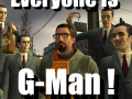 EVERYONE IS G-MAN!
