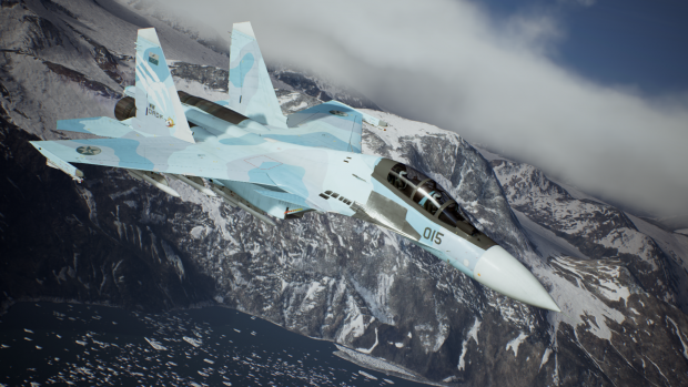 Su-30SM Three-Tone Flora Remade