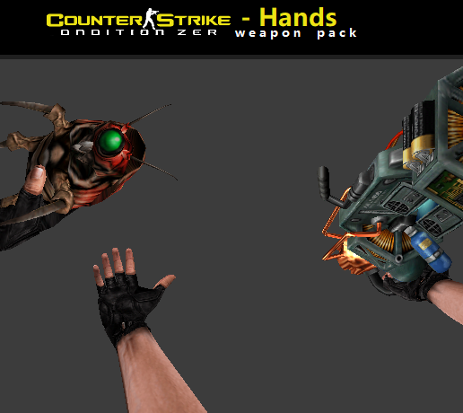 Counter Strike CZ Hands Weapon Pack