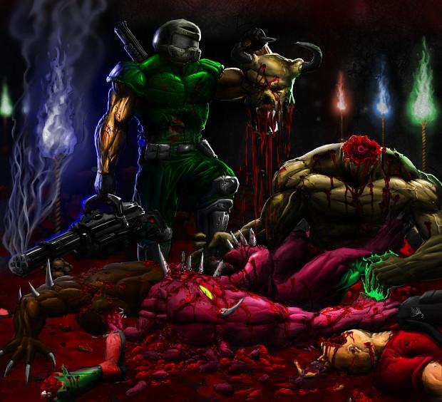 Brutal Doom v18e