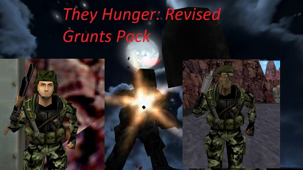 They Hunger: Revised Grunts Pack