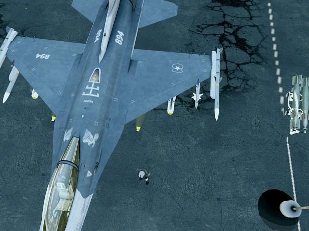 F-16 chile