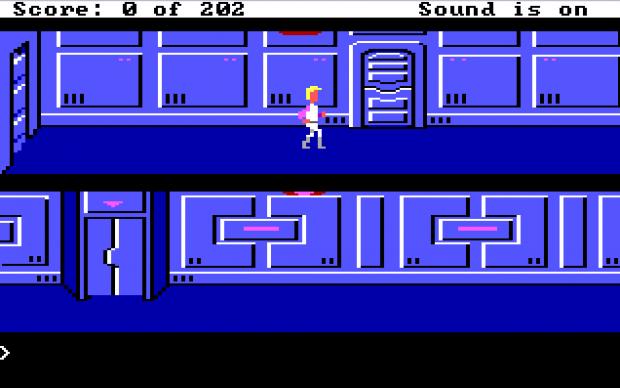 Space Quest 1 EGA (yellow-hair mod)