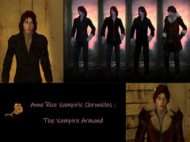 The Vampire Armand  by Marius217