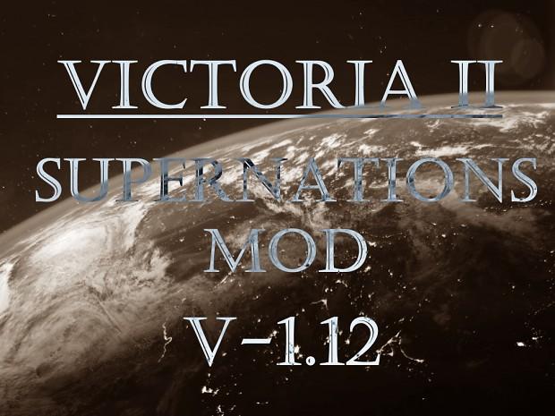 Victoria II: Supernations Mod v. 1.12