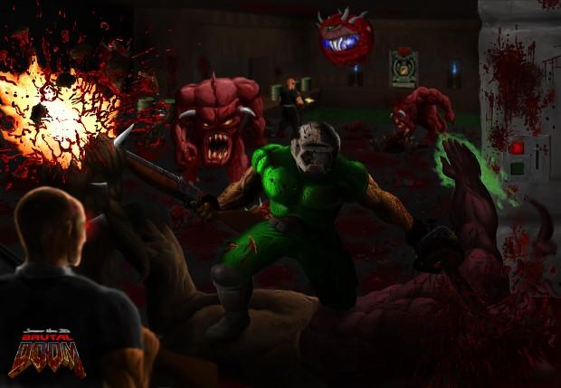 Classic Brutal Doom Improved v13a