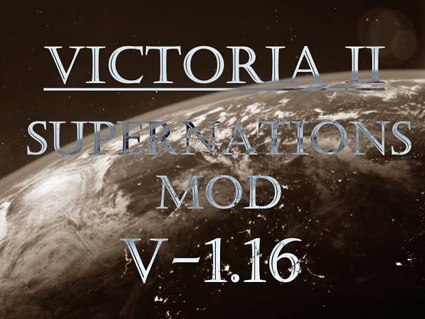 Victoria II: Supernations Mod v. 1.16