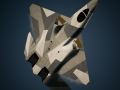 YF-23 Black Widow II - Splinter Camouflage