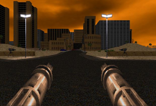 Dual FlameCannon for Brutal Doom v21