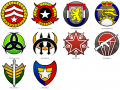 Rise of the Reds Generals Icons