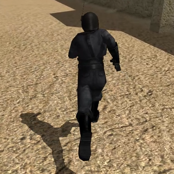 PS2 Sprinting Animations