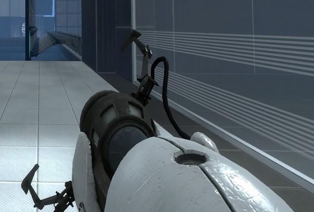 Portal 2 beta PortalGun with pickup animations
