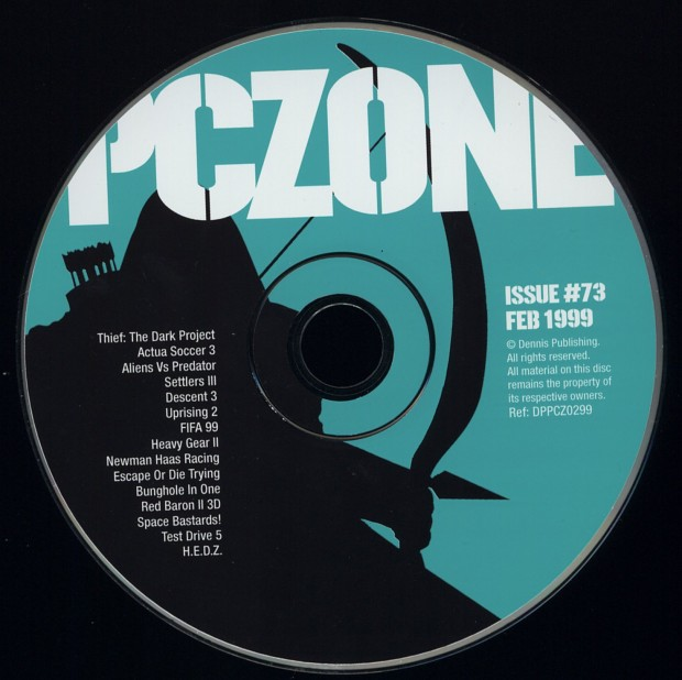 PC Zone Issue #73 CD-Rom
