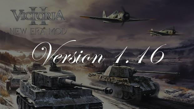 New Era Mod - Version 1.16 - Extended Version