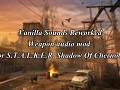 Vanilla sounds reworked - weapon audio mod